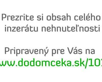 EXKLUZÍVNE NA PREDAJ - Rodinný dom, B. Bystrica, Buková ulica, mestská časť Skubín