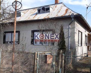KONEX REALITY - Rodinný dom 8 km od Sobraniec!