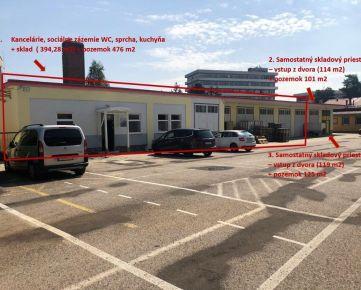 SKLADOVÝ OBJEKT NA PREDAJ/ PRENÁJOM 627 m2, TRENČÍN