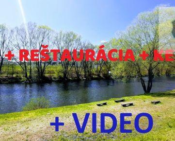 ViP Video. Dom+Reštaurácia a kemp pri rieke Hron -Vlkanová
