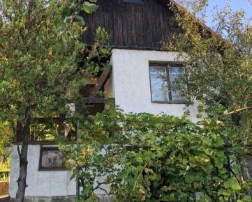 Na predaj murovaná chata - Vyšné Opátske