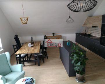 Vkusne zariadený 2-izbový byt pri Horskom parku
