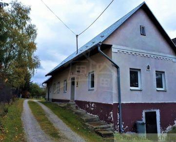 Chalupa v krásnom prostredí Strážovských vrchov - Zliechov na predaj