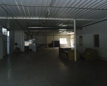 Na prenájom výrobné/skladové/priemyselné priestory, vlastné parkovanie
