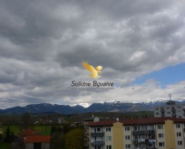 Krásny 2 izbový byt s výhľadom na Tatry