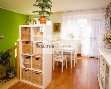 REZERVOVANÉ !!! Praktický dvojpodlažný 4 izbový Rodinný dom s dvoj-garážou v širšom centre BA Ružinov