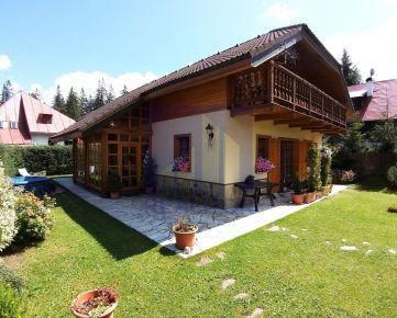 PREDAJ, rekreačný dom DONOVALY - Polianka, pozemok 676 m2