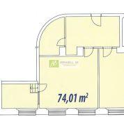 2-izb. byt 74m2, kompletná rekonštrukcia