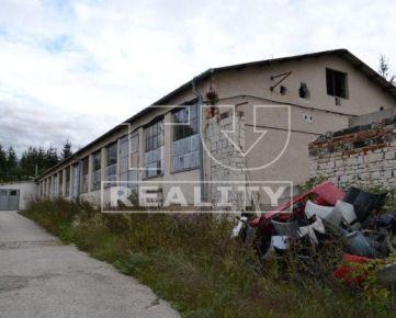 Na predaj výrobná hala 647m2 v obci Brodzany. CENA: 150 000,00 EUR