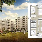 4-izb. byt 125m2, pôvodný stav