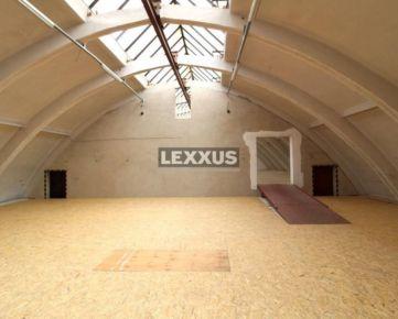 LEXXUS-PRENÁJOM, temperovaná skladová hala /520 m2/, Stará Vajnorská.
