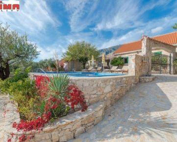 ID: 1858  Luxusná kamenná vila na ostrove Brač - Bol