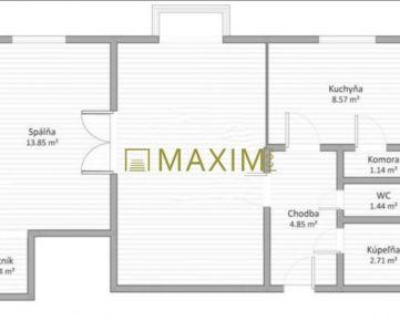 2-izbový byt na Krížnej ulici