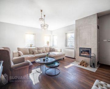 SLOVAK INVEST - Výnimočný 5 izbový rodinný dom s úžasnou atmosférou, kompletne zariadený, Mlynská ul.