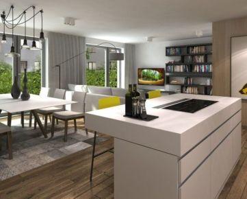 Predaj 4-izbového bytu s vlastnou predzáhradkou