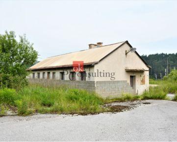 Budova v priemyselnej zóne Markušovce na predaj