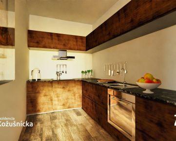 NA PREDAJ | 3 izbový byt 79m2 + veľký balkón, 4np. - Rezidencia Kožušnícka / byt A28