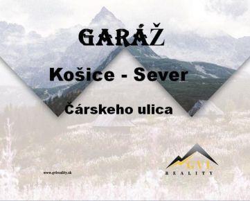 PREDANÉ! Garáž, Čárskeho, Košice - Sever.