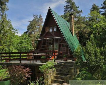 Chata na Bukovci na vlastnom pozemku.