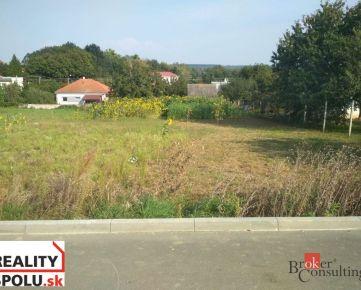 Pozemok NItra - Párovské Háje na predaj, o výmere 979 m2