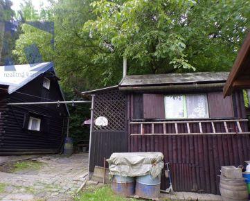 BV REAL EXKLUZÍVNE Na predaj 2 chaty so záhradou 736 m2 Handlová FM1141