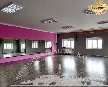 PRENÁJOM - telocvičňa so zrkadlami 133 m2, Nitra - širšie centrum