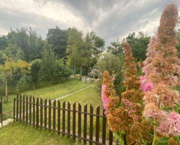 Rkkluc- predaj záhrady s chatkou v Kamennom mlyne