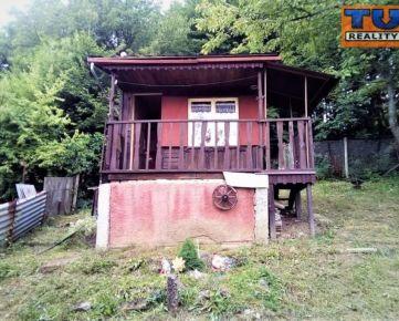 Záhrada s chatkou, 291 m2, Zimný potok, Prešov. CENA: 6 500 €