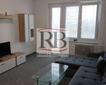 Ponúkame na prenájom 2 izbový byt na ulici Radarová, Ružinov, Bratislava