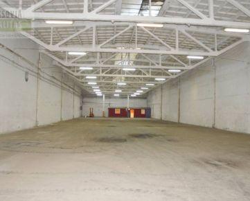 Ponúkame na prenájom halu/sklad na sídlisku Nad Jazerom 1158, 8 m2