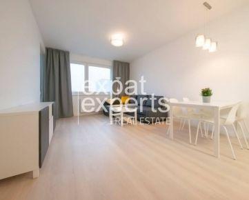 Slnečný 2i byt, 45 m2, zariadený, s lodžiou