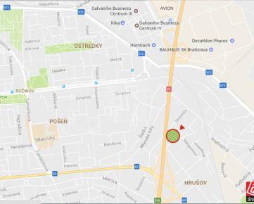 Direct Real - Odpočet DPH  ! Slnečný  pozemok vhodný na nízkopodlažnú bytovú výstavbu,alebo administratívu v Bratislave - Ružinov .