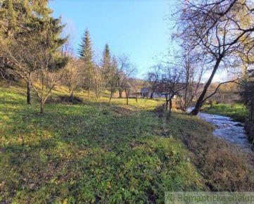 Pozemok pri potoku pod Strážovom v obci Zliechov na predaj