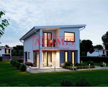 ADOMIS - predám 2podlažný RD 5 - izbový v novej tiche lokalite obce ŠEBASTOVCE, 2040m2, len 2min z Košíc.