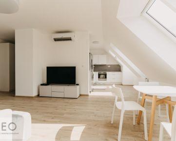 NEO- nový zariadený 3i byt s terasou do vnútro bloku CITY RESIDENCE
