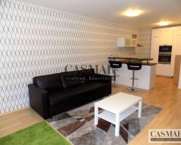 CASMAR RK - prenájom 3 izb. byt 77m2 s terasou 8m2 v Arboria, Veterná