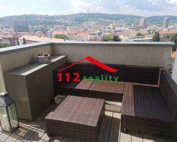 Na prenájom klimatizovaný 3 izbový byt s balkónom, parking, Bratislava II, Ružinov, novostavba Jégého