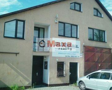 Výrobna hala + kancelárie-Čereňany, okres Prievidza