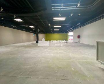 Exkluzívny obchodný priestor s rozlohou 570m2 na prenájom v Bratislave