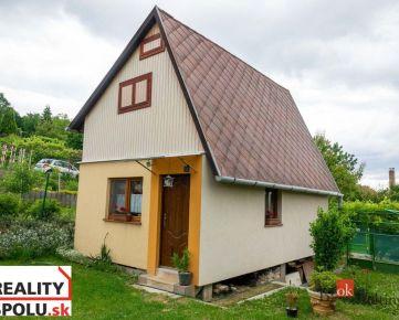 Murovaná chata, Zdoba, Košice – okolie, 74 m2, pozemok 4 áre- REZERVOVANÉ