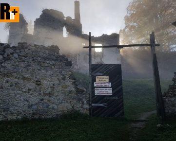 Na predaj Žilina Sklabinský HRAD iný objekt na bývanie a rekreáciu - exkluzívne v Rh+