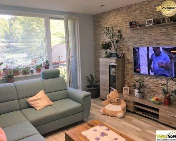 Kompletne prerobený trojizbový byt s množstvom zelene - Slatinské Lazy