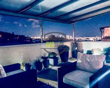LUXUSNÝ 3i BYT s priestrannou terasou a výhľadom na mesto - GUOTHOVA