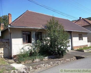 Čiastočne zrekonštruovaný rodinný dom ideálny na chalupu v Medovarciach