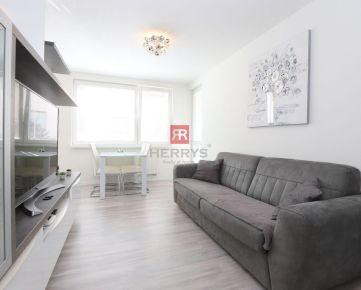 HERRYS - Na prenájom krásny a moderný 2izbový byt s parkovaním v novostavbe NOBELOVA
