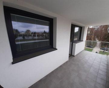 CENTRUM - 2 izb. byt s veľkým balkónom, NOVOSTAVBA