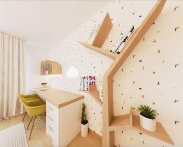 Rezidencia Bystrická! Predaj priestranného 3i bytu 75,69m2 - 3.poschodie,  Ružomberok