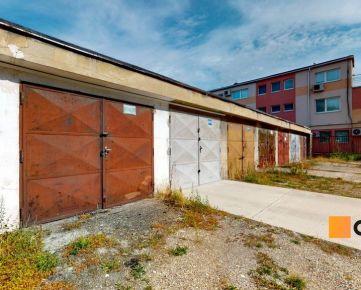 Predaj - garáž 18 m2, BA II. časť RUŽINOV, ul. POLÁRNA.