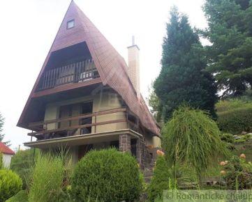 Chata v krásnom prírodnom prostredí s výhľadom v obci Vrchteplá na predaj