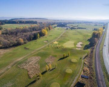 Lukratívny pozemok pri golfovom rezorte - AKCIOVÁ CENA